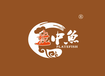 43-V494 盘中鱼 PLATEFISH