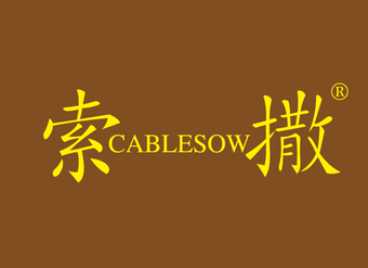 33-VZ566 索撒 CABLESOW