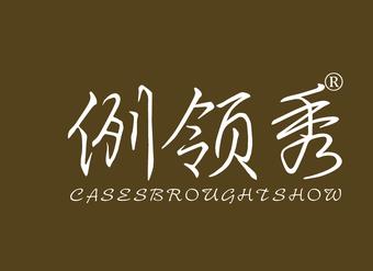 41-V255 例领秀 CASESBROUGHTSHOW