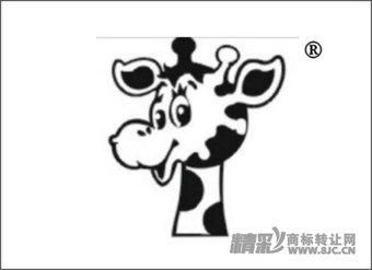 12-0114 鹿卡通纯图形