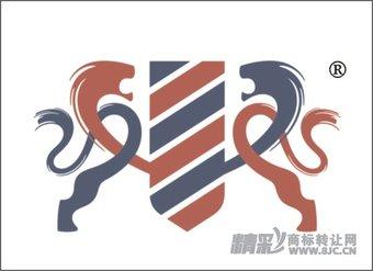 19-0089 双狮、盾图形