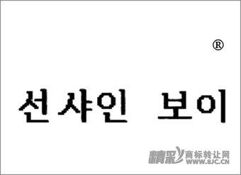 35-0445 韩文(阳光男孩)